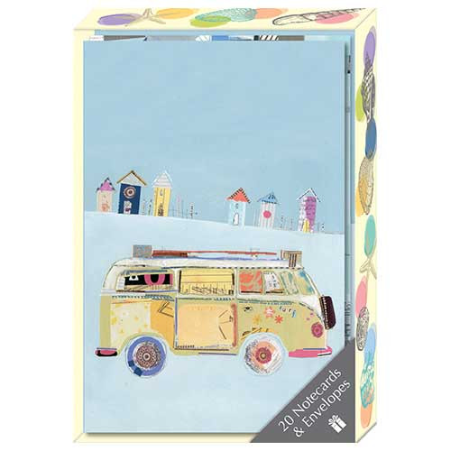 By the Sea themed Notecard Box