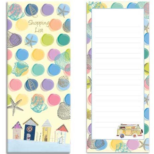 By the Sea themed Shopping List