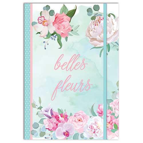 Belles Fleures themed A5 Notebook