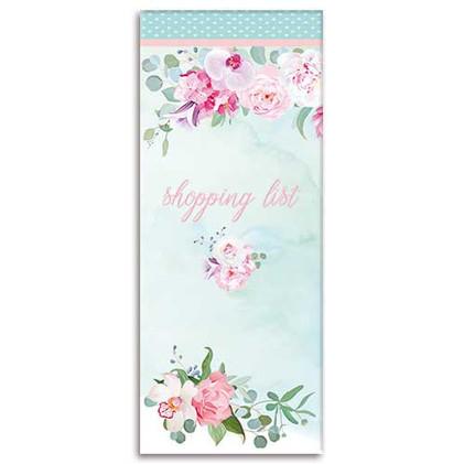 Belle Fleurs themed Shopping List