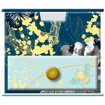 Bee Wild themed Memo Cube