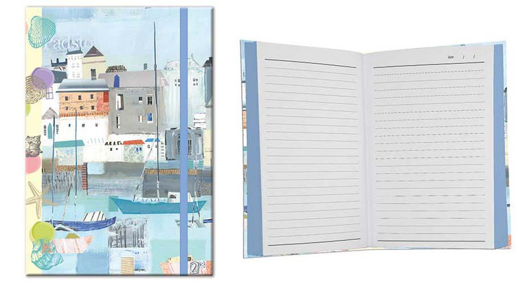 By the Sea themed A5 Notebook