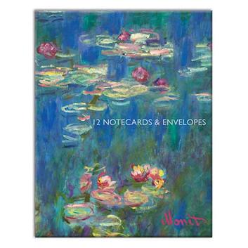Monet themed Notecard Wallet