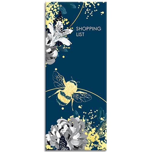 Bee Wild themed Shopping List