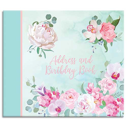 Belles Fleurs themed Address Book
