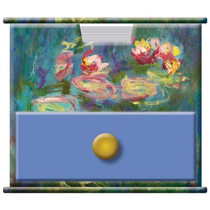 Monet themed Memo Cube