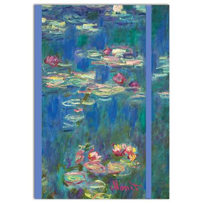 Monet themed A5 Notebook