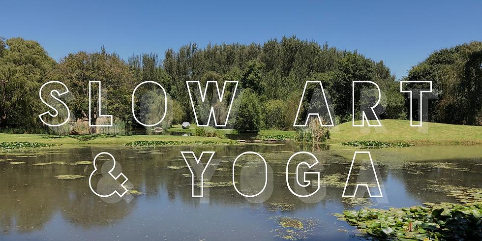 Slow Art & Yoga