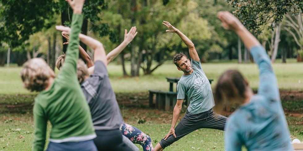 Yoga in the Park - Emmarentia