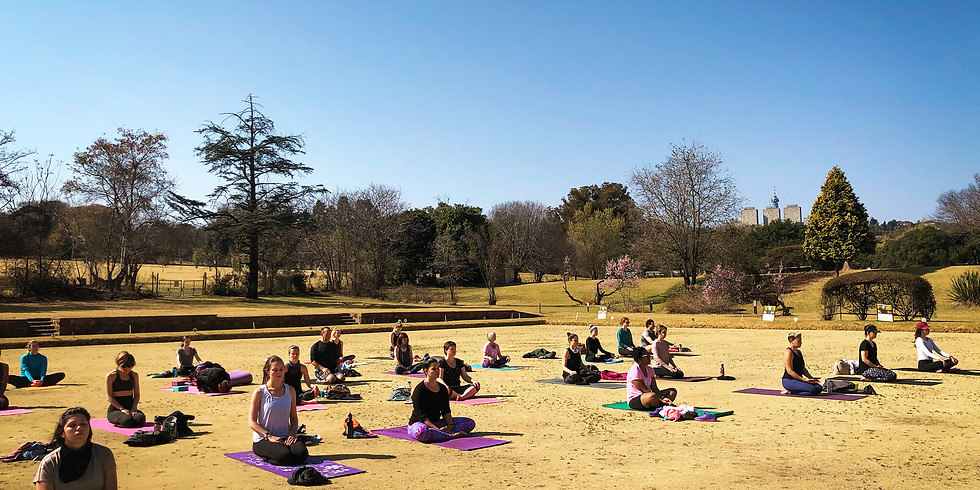 Yoga in the Park - Zoo Lake