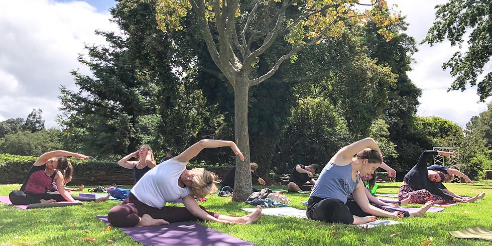 Spring Yoga + The Linden Market