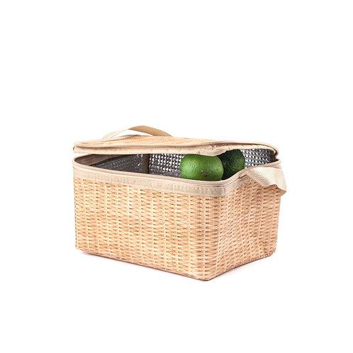 Wicker Lunch Bag