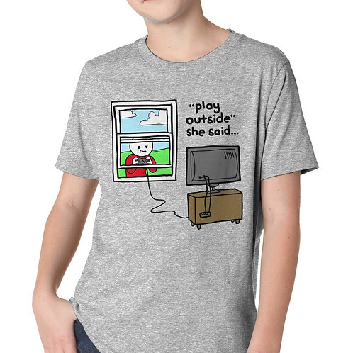 Play Outside T-Shirt Youth