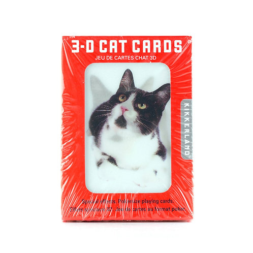 Playing Cards 3D Cats
