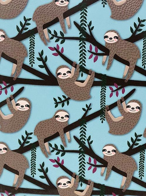 2021 Weekly Planner: Sloths