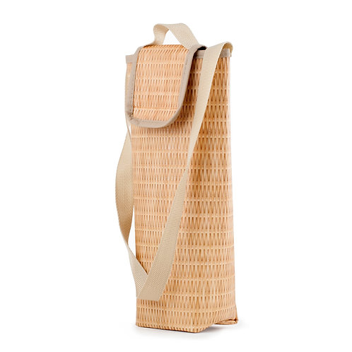 Wicker Wine Cooler Bag