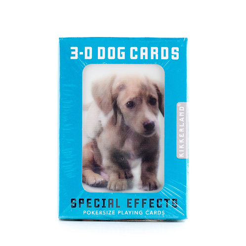 Playing Cards 3D Dog