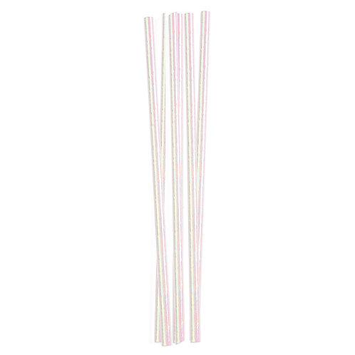 Iridescent Paper Straws