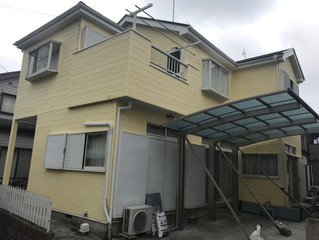 熊谷市外壁塗装完工と始まり・・
