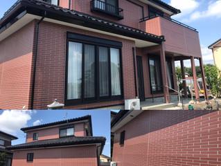 深谷市横瀬S様邸の2色色分け塗装!!