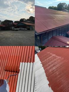 小川町屋根塗装