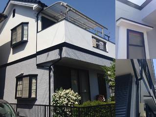狭山市U様邸外壁塗装工事終わりました!