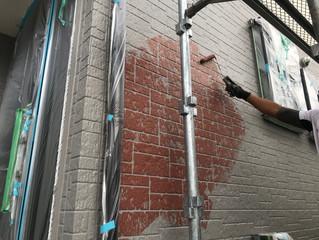小川町の外壁塗装工事