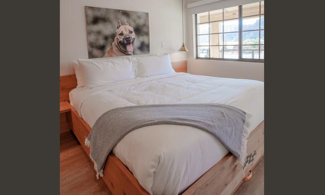 Two Floor Suite: Master bedroom