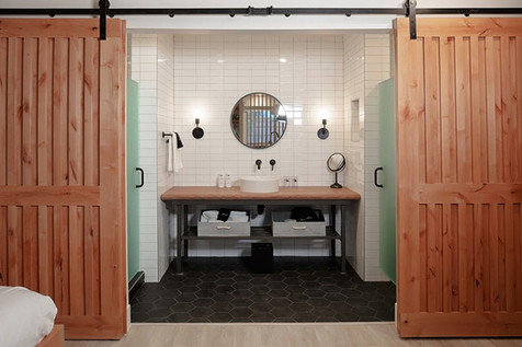 Bathroom Configuration in All Rooms