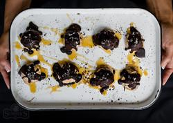 Salted Caramel Truffle Bombs