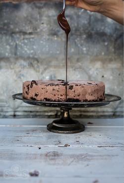 Chocolate Lovers Chocolate IC Cake