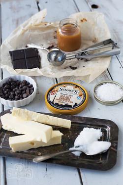 Salted Caramel Truffle Ingredients