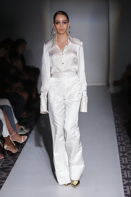 Silk Shirt Ivory