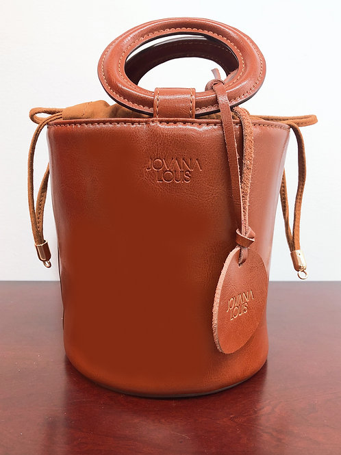JL Leather Bucket Bag