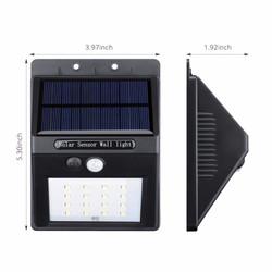 16LED Solar Lights Motion Sensor Outdoor Wall Fixtures Lighting 2