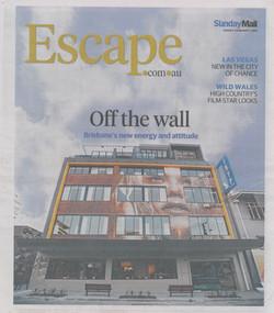 Escape Magazine Cover