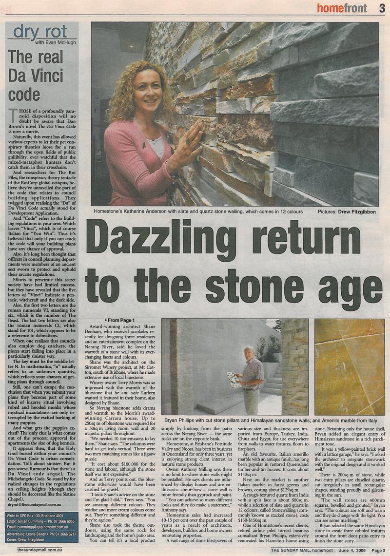 Sunday Mail - June 2006