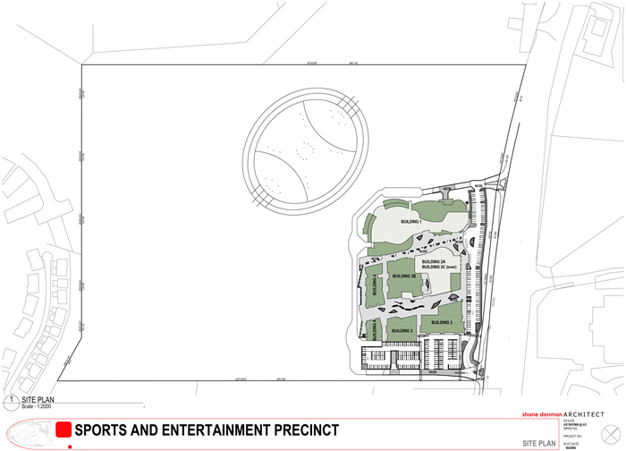 Sports and Entertainment Precinct