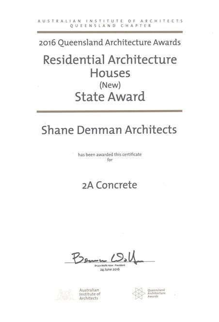 QLD AIA AWARDS | 2A CONCRETE