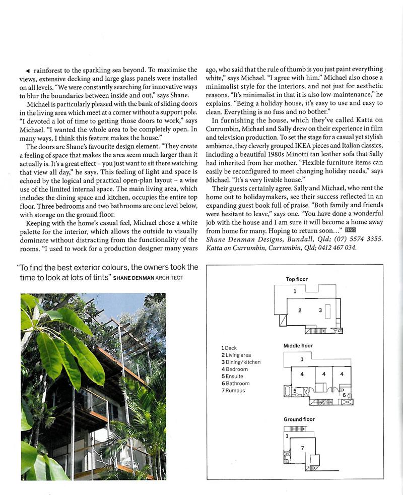 House & Garden - November 2006