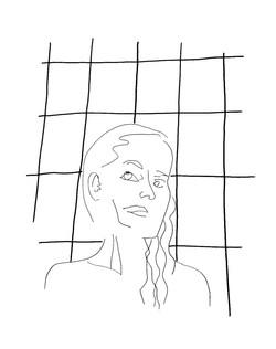 Autoportrait salle de bain
