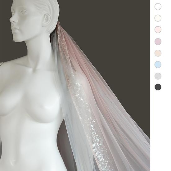 TRINITY Glitter Layered Veil