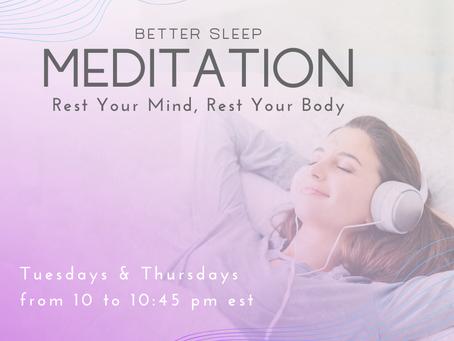 Better Sleep Meditation