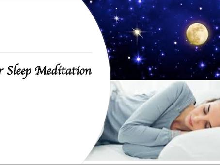 [Bayside Meditation] Better Sleep Meditation