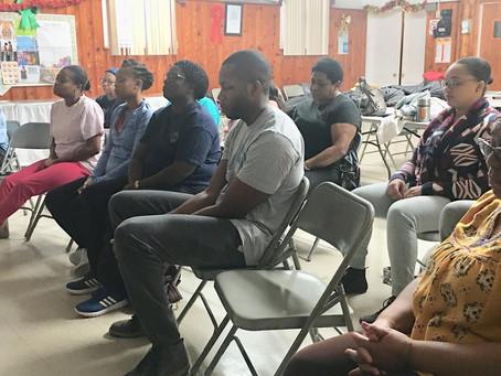 12/15/19 Workshop at Grace Moravian Church