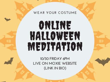 Halloween Meditation Party!