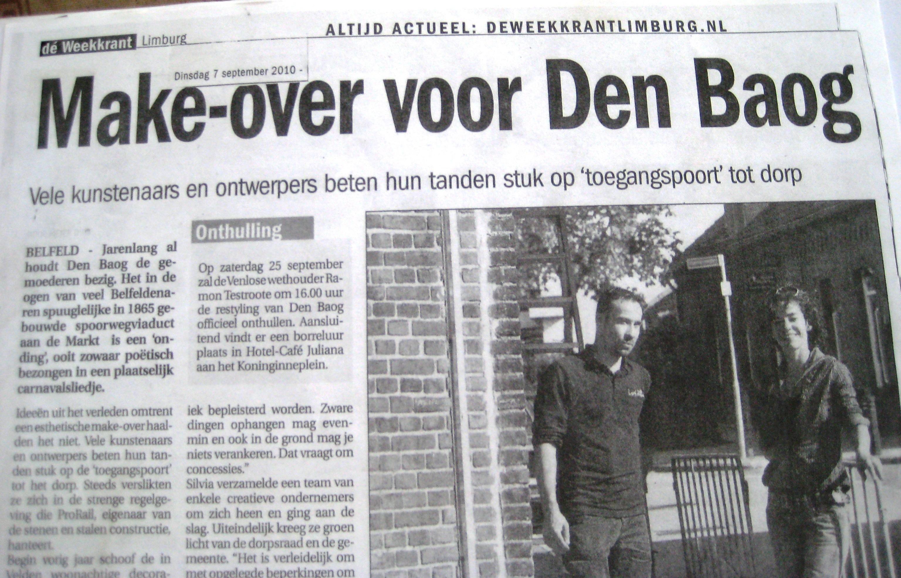 D'n Baog, |Belfeld