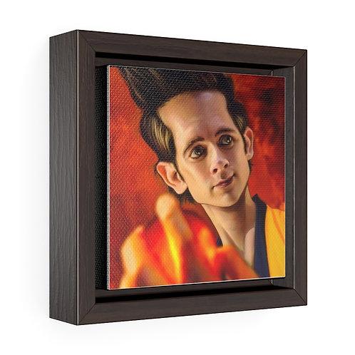 Bulman Pop-scene - DragonballZ - Square Framed Premium Gallery Wrap Canvas