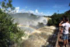 Foz do iguacu /chute d'iguazu