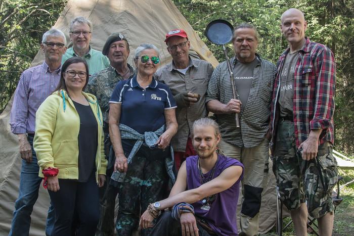 Metsämessut 2019 ja Nuku yö ulkona- tapahtuma 31.8.2019